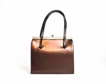 60s Brown Kelly Bag