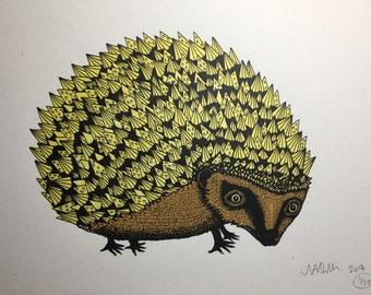 Golden Hedgehog
