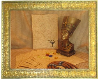 Egyptian Palm Paper - Antiqued Paper - 10 Sheets