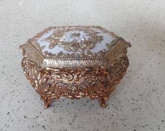 Jewelry Box - Jewelry Casket - Metal Japan