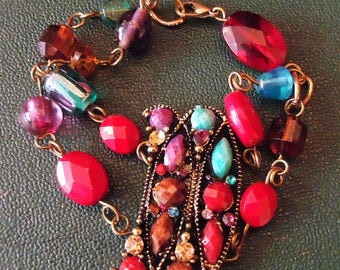 """Fireworks"" bracelet ""multiperles"" uniquely well! MAPERLE"