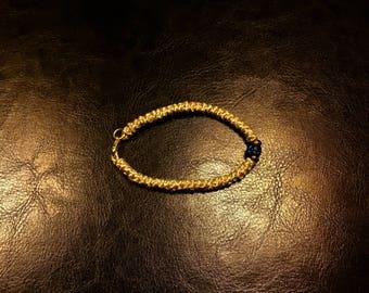 Prayer rope gold - Bracelet Prayer gold - Komposkini gold Komboskini Chotki - from Mount Athos