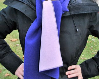 Italian Wool Double-Faced Scarves