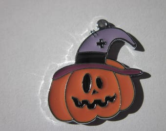 halloween 2.5 cm (34) colored metal charm