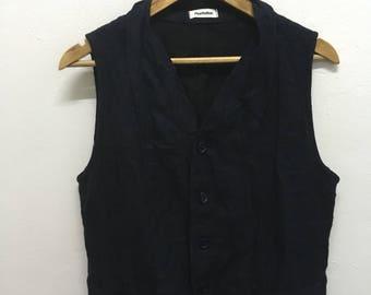 Vintage Issey Miyake Plantation vest