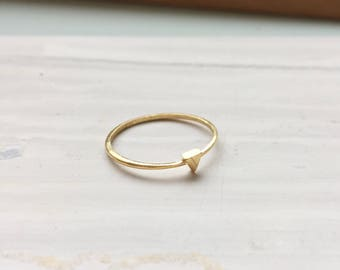 Gold Plated Apex Ring