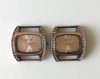 Ribbon Watch Faces for Double Stranded Beaded Watch Bands (1022)