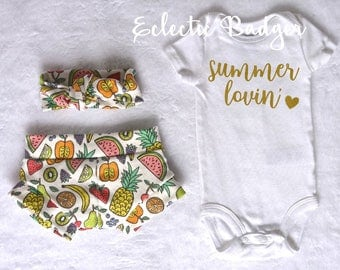 Baby girl Summer outfit baby girl clothing Coming home outfit summer Baby girl outfit summer Going home outfit summer Organic baby girl