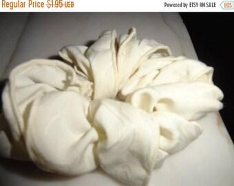 50% OFF Vintage cotton Scrunchie hair ponytail wrap