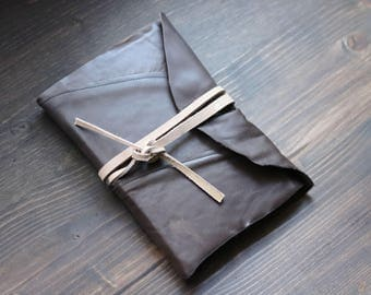 Brown Leather Sketchbook with Bristol Paper