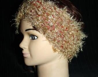 wool and fancy wire headband