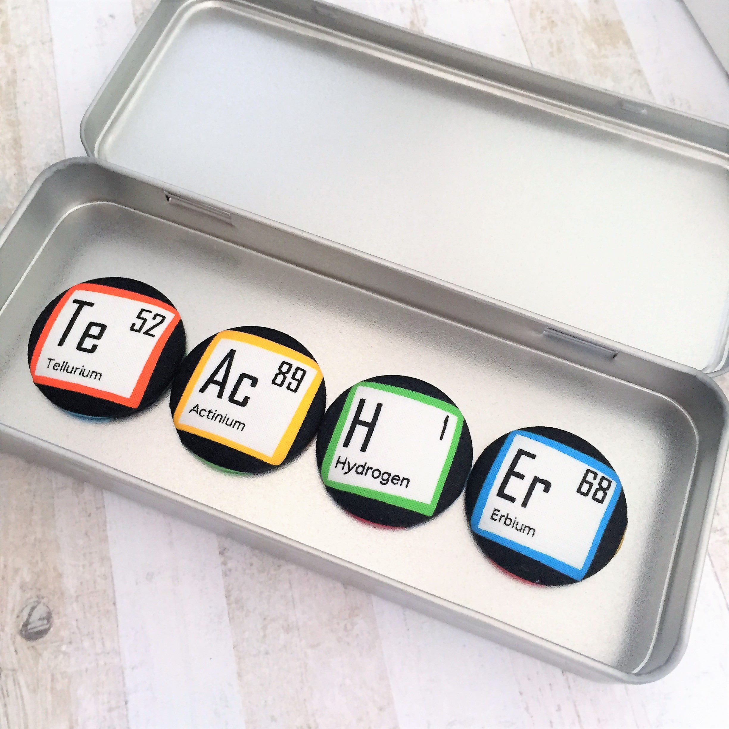 Teacher thank you gift periodic table elements magnets fridge teacher thank you gift periodic table elements magnets fridge magnet set science geek gamestrikefo Choice Image
