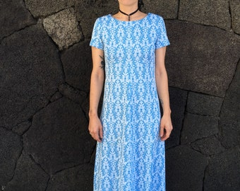 1970's French Maxi Dress