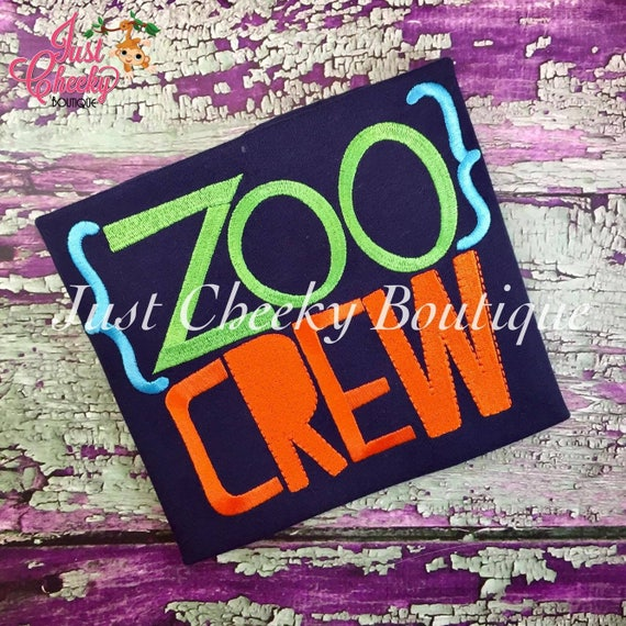 Zoo Crew Shirt - Boys Zoo Shirt - Kids Zoo Shirt - Zoo Trip Shirt - Dinosaurs at the Zoo - Boys Summer Shirt - Kids Summer Shirt -