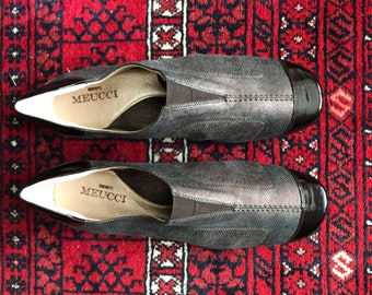 Sesto Meucci made in Italy lagenlook leather flats