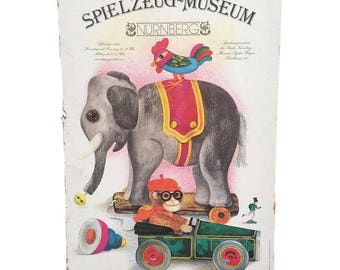 Spielzeug-Museum Toy Museum Lithograph