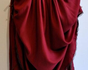 long skirt bohemian red