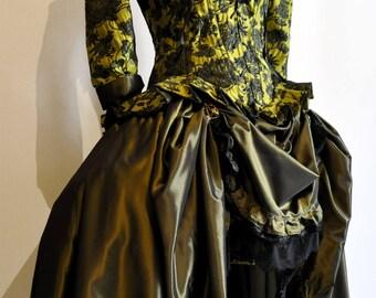 Costume My Oppa Steampunk grenne/black