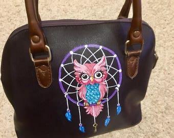 Vintage Hand Painted handbag