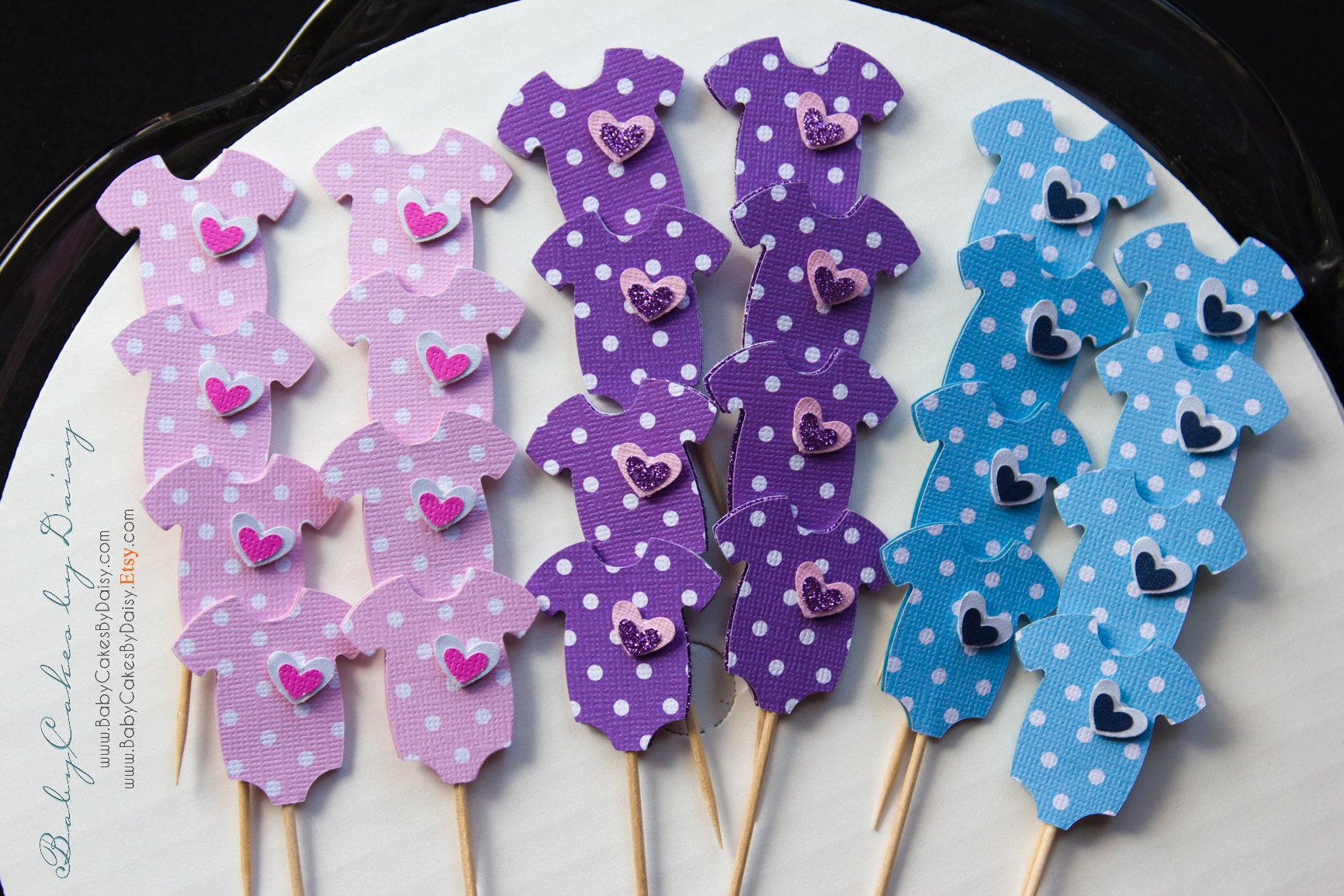 esie Cupcake Toppers Mix Baby Shower Cupcake Toppers