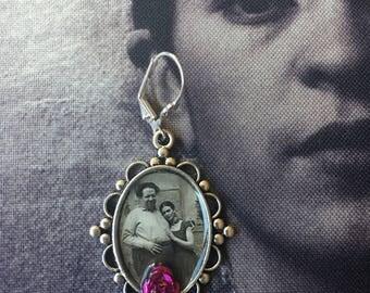 Frida Inspired earrings