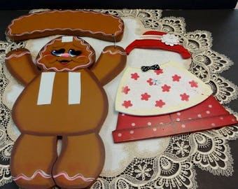 gingerbread step stool gingerbread decor home decor