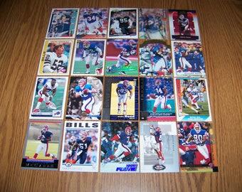 100 Buffalo Bills Football Cards