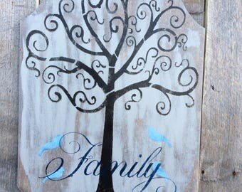 Simply Rustics Creation titled family