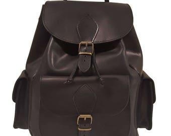 Handmade Backpack, School bag, Travel bag, Women/Men Leather backpack, Made from 100% Full Grain Leather