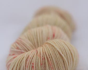 Hand-dyed yarn - sock yarn - superwash - merino - dyed-to-order - speckles - OYAT