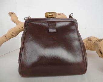 Petite Brown Leather Purse
