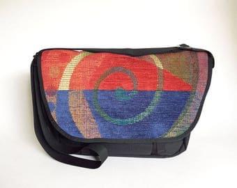Fiesta Fabric, Mini Messenger, Cross Body Bag