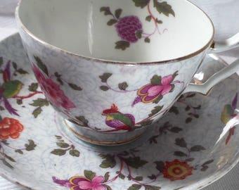 Crown Staffordshire Bone China Tea Cup