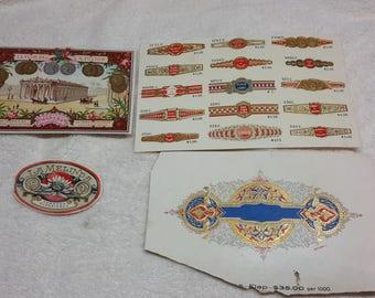 Antique Cigar Label