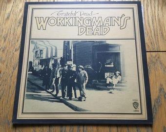 Grateful Dead Workingman's Dead Vinyl Record LP Jerry Garcia Blues Rock