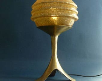 Art deco bronze table lamp Danish