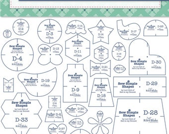 Bee Happy - Sew Simple Shapes Applique Templates - Lori Holt