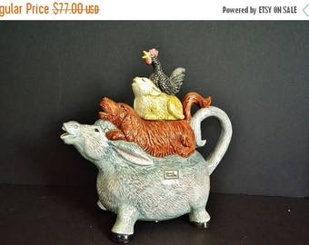 On Sale Bremen Town Minstrels Collector's Series  Teapot from Fitz & Floyd