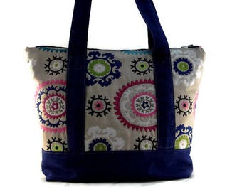"Jean carrier bag  ""Ouzbek Boukhara"""