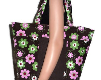 Carrier bag with purse organizer