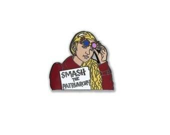 Luna Lovegood Harry Potter Feminist Enamel Pin