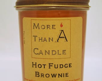 8 oz Hot Fudge Brownie Soy Candle