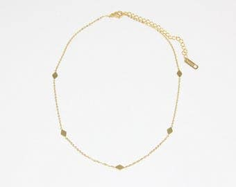 Five Diamond Choker - MAIVE by Seoul Little - M1523