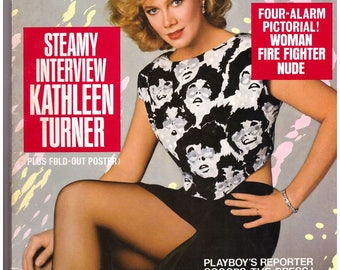 Playboy's Kathleen Turner Issue May 1986