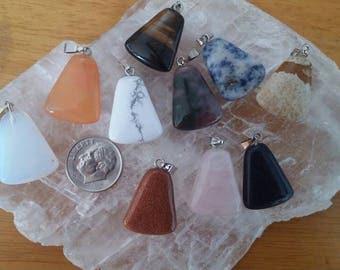 10 Gemstone Pendants
