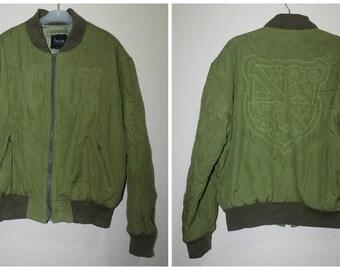 Vintage Yoshiyuki Konishi Ficce Uomo Bomber Jacket Japan Designer Fashion