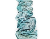 Small chiffon scarf, small silk scarf, crinkle chiffon scarf, silk scarf, silk chiffon scarf, bridesmaid gift, best friend gift, in law (A)