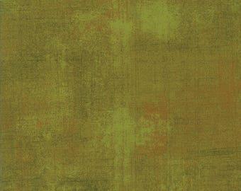 Moda Grunge Basics CACTUS Green Mottled Background Fabric 30150-344 Fabric BTY