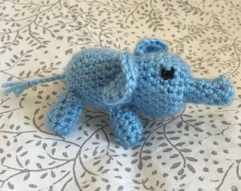 Crochet Elephant Keyring