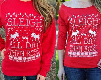 Wine Christmas. Wine Sweatshirt. Wine Lover. Wine Lover Gift.